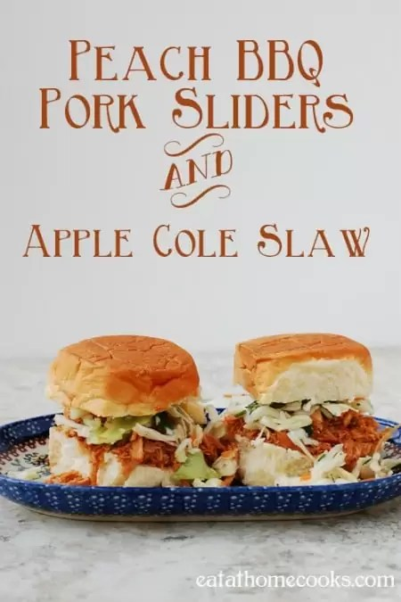 Peach-BBQ-Pork-Sliders-and-Apple-Cole-Slaw