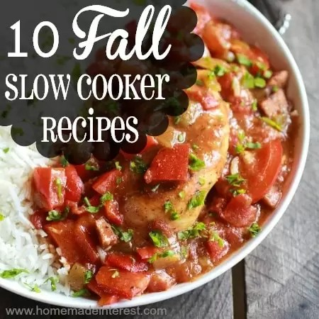 10 Fall Slow Cooker Recipes | Home.Made.Interest.