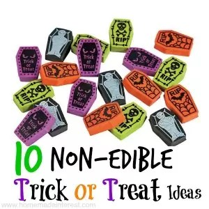 10 Non-edible Trick or Treat Ideas | Home.Made.Interest.
