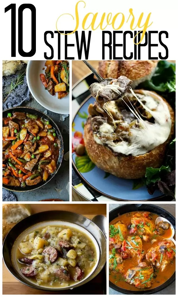 Hot and hearty, these savory stew recipes are great for cool fall evenings and snowy winter days.