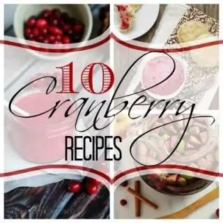 10 Cranberry Recipes | Home. Made. Interest.