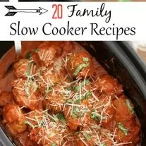Save time in the kitchen with these wholesome family Crock Pot recipes. Slow cooker dinners give you more time to spend with your family and kids.