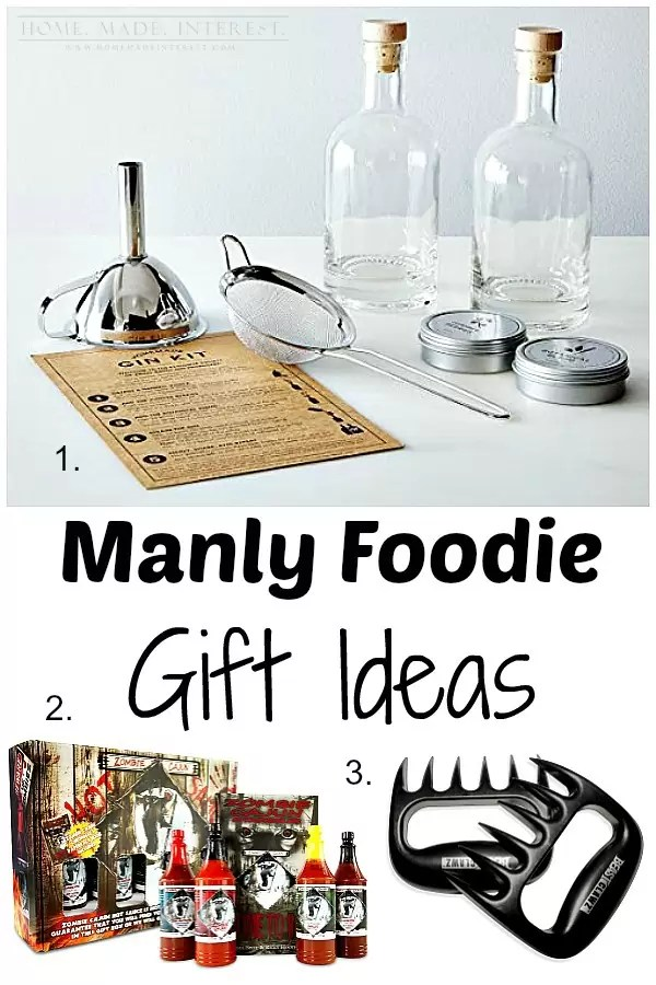 These are the most wanted foodie gifts for men. Great for Valentine's Day, Father's Day and his birthday.