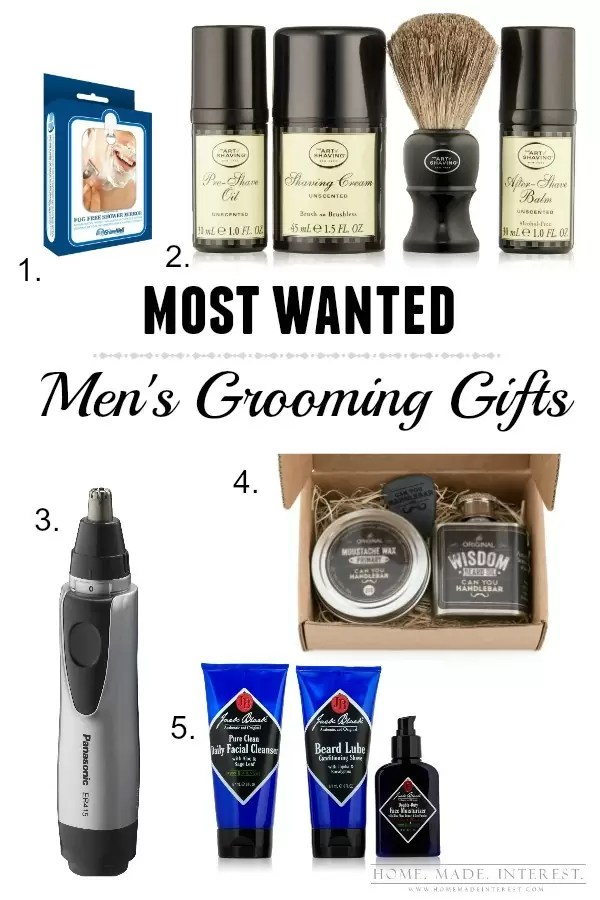 If your man shaves or has a cool hipster beard these are must have gifts for Valentine's Day, Father's Day or his birthday.