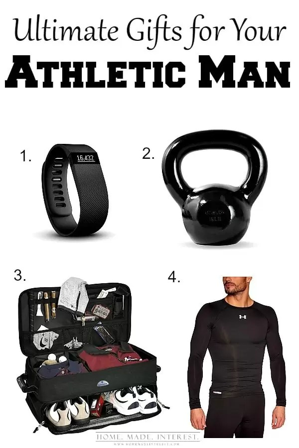 If your man is a fitness freak or an athletic these gift ideas are a perfect match. Here are must have gifts for every man, great for Valentine's Day, Father's Day and his birthday.