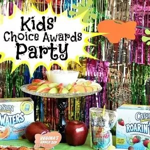 We have lots of great kid's party ideas for a Nickelodeon Kids' Choice Awards Party party with Sponge Bob, Once Upon a Time, Teenage Mutant Ninja Turtles and more! Simple DIY crafts and fun party recipes!