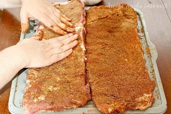 I love grilling out in the summer and these chipotle dry rub ribs are the best! Easy to make ribs without all of the messy bbq sauce!