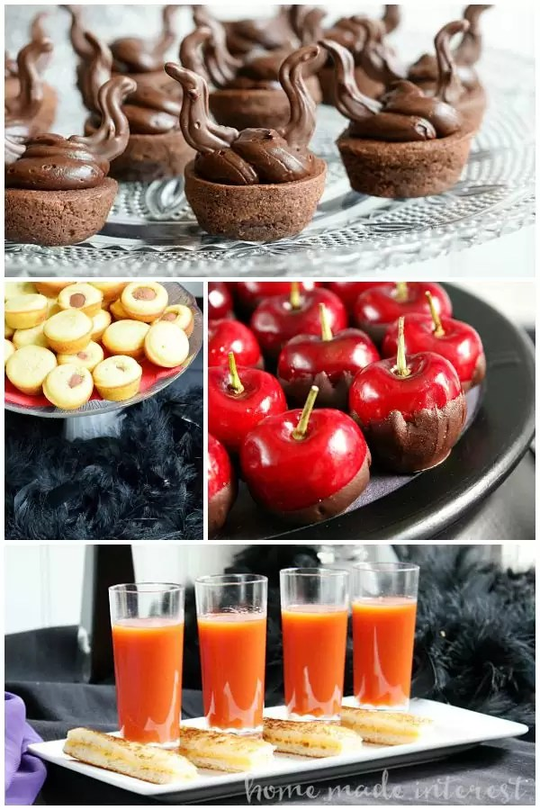 "Fun and easy food ideas for a Disney Villains party to celebrate the premiere of The Disney Channel's ""Descendants""."
