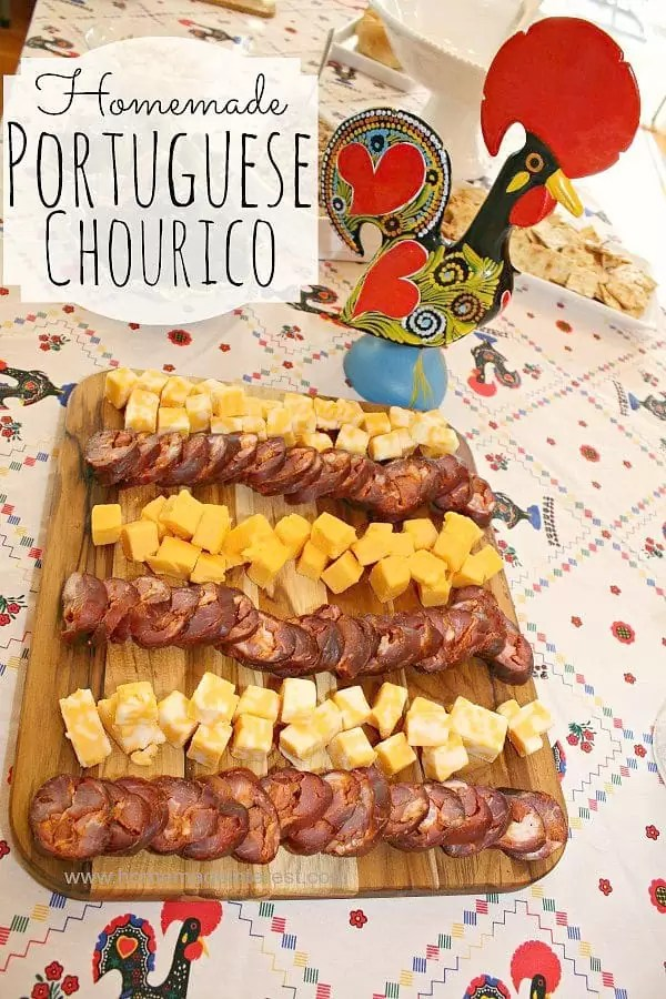 A Family Tradition - Learning how to make homemade Portuguese Sausage, Chourico, is a Portuguese-American family tradition. This is the best smoked meat out there.