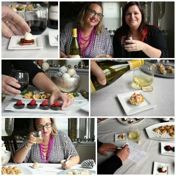 Our Wine Pairing Party was all about trying new foods and tasting new wines. We had so much fun coming up with new recipes to pair with Sonoma Cutrer wines and our guests left happy!