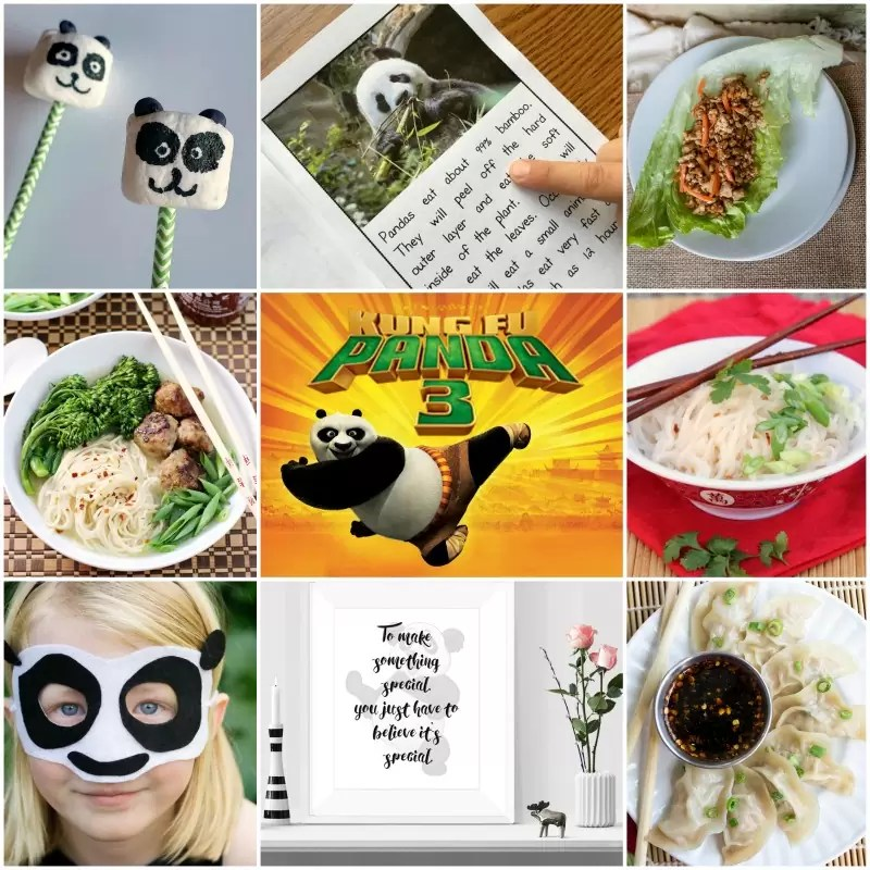 Kung Fu Panda 3 party ideas. Kung Fu Panda crafts, recipes, and printables that everyone will love.