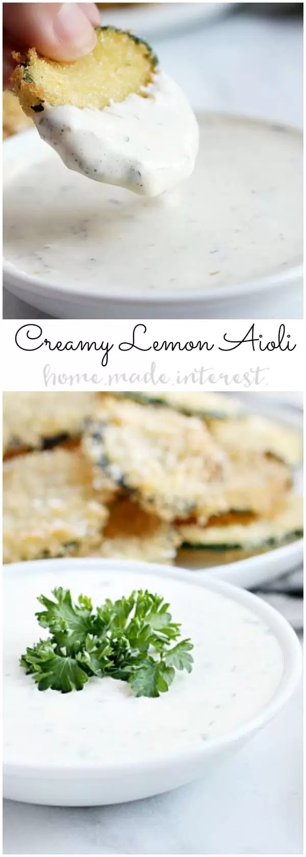 Easy Lemon Aioli Home Made Interest