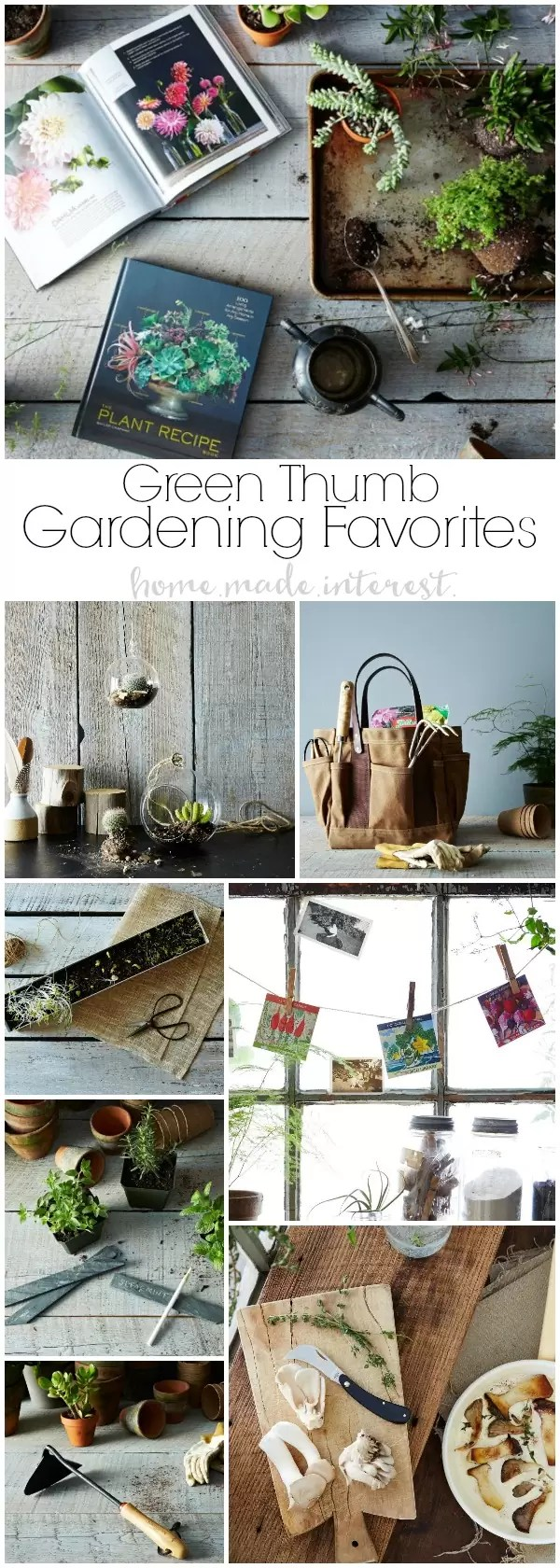 I've made a list of some of my favorite gardener gifts for all of those people I know who have a green thumb. Gardeners are going to love all of these fun, beautiful, and interesting gardening tools and gardening decorations.Great gifts ideas for mom on Mother's day or dad on Father's day too.