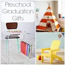 These preschool graduation gift ideas for grandparents for kids are fun and cute! Kids furniture, reading nooks, learning activities and backpacks. Everything a new kindergartner will need and want when starting out the new school year!