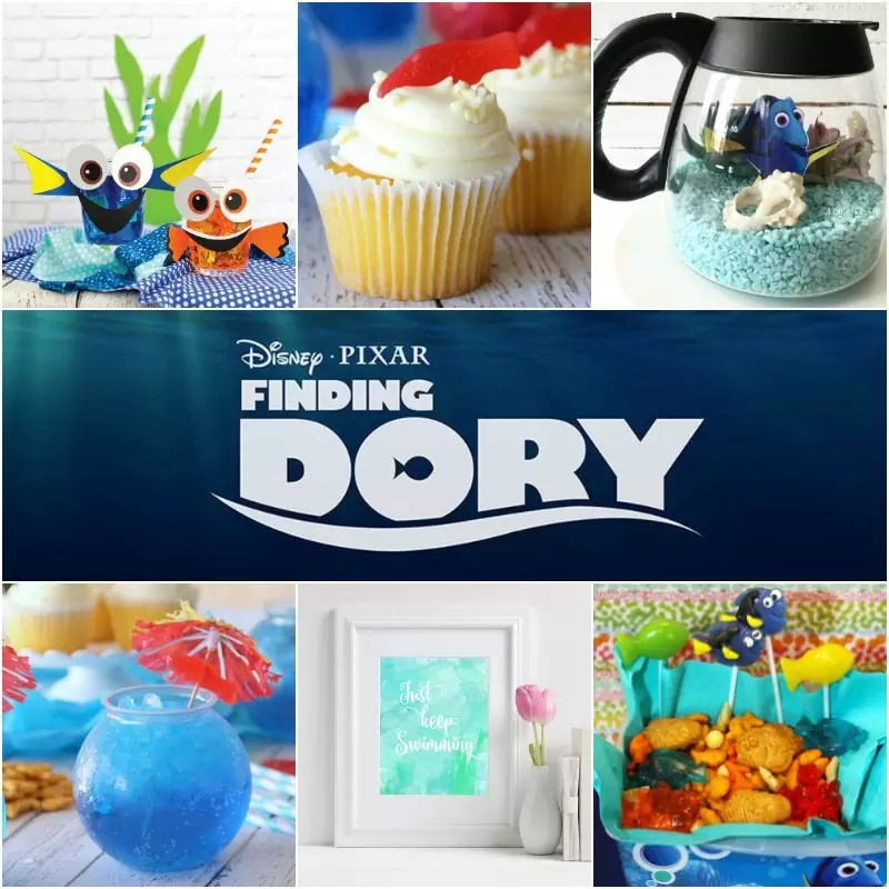 Fun Finding Dory crafts and recipes!