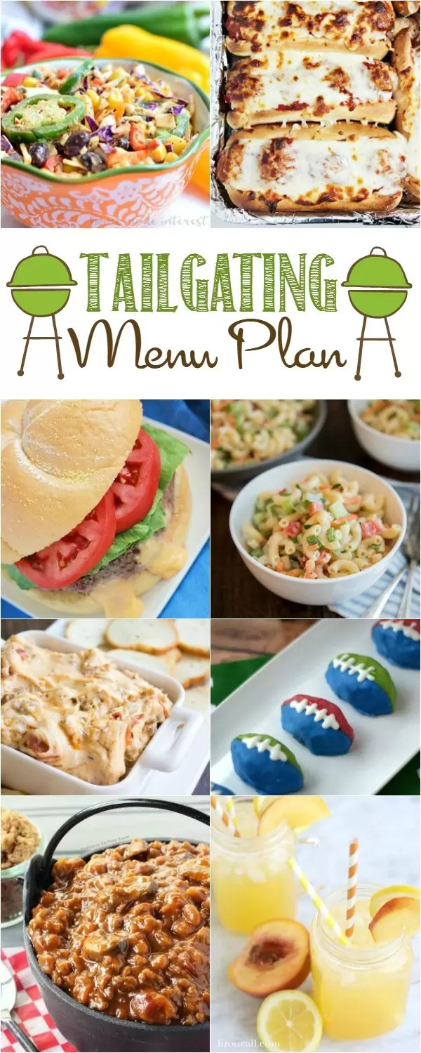 Are you going to be tailgating this fall? Need some awesome game day recipes for a homegating party? We have tailgating recipes for your game day party from appetizers, to main dish, to dessert! Choose two or three of these easy game day recipes for your party and cheer your favorite team on.