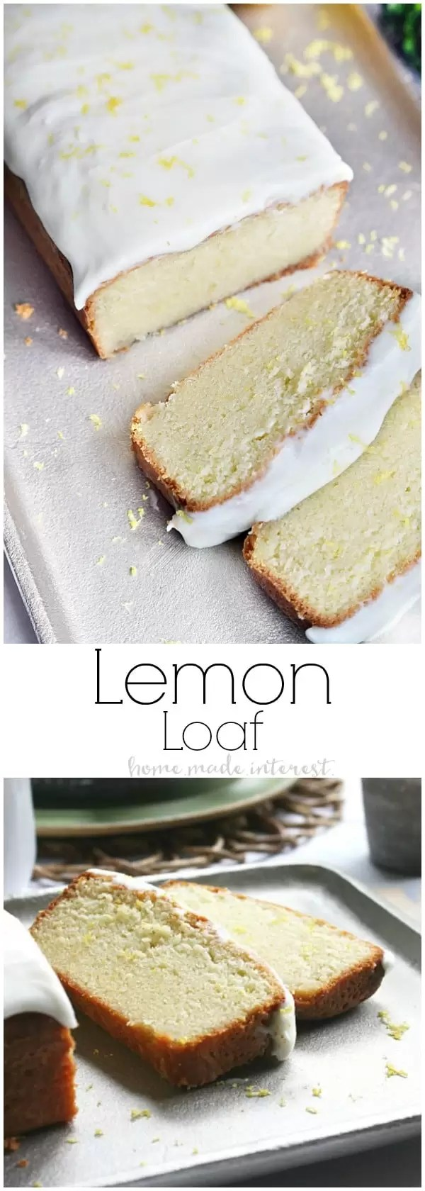 This Lemon Loaf is a Starbucks copycat recipe that doubles as a great easy dessert recipe and a simple brunch recipe. I made this lemon loaf recipe for a recent brunch where we served lattes and made simple teacher appreciation gifts with a cute Thanks A Latte gift tag. I've shared the free coffee printables including a free printable lemon loaf recipe card. These make a great homemade Christmas gift too!