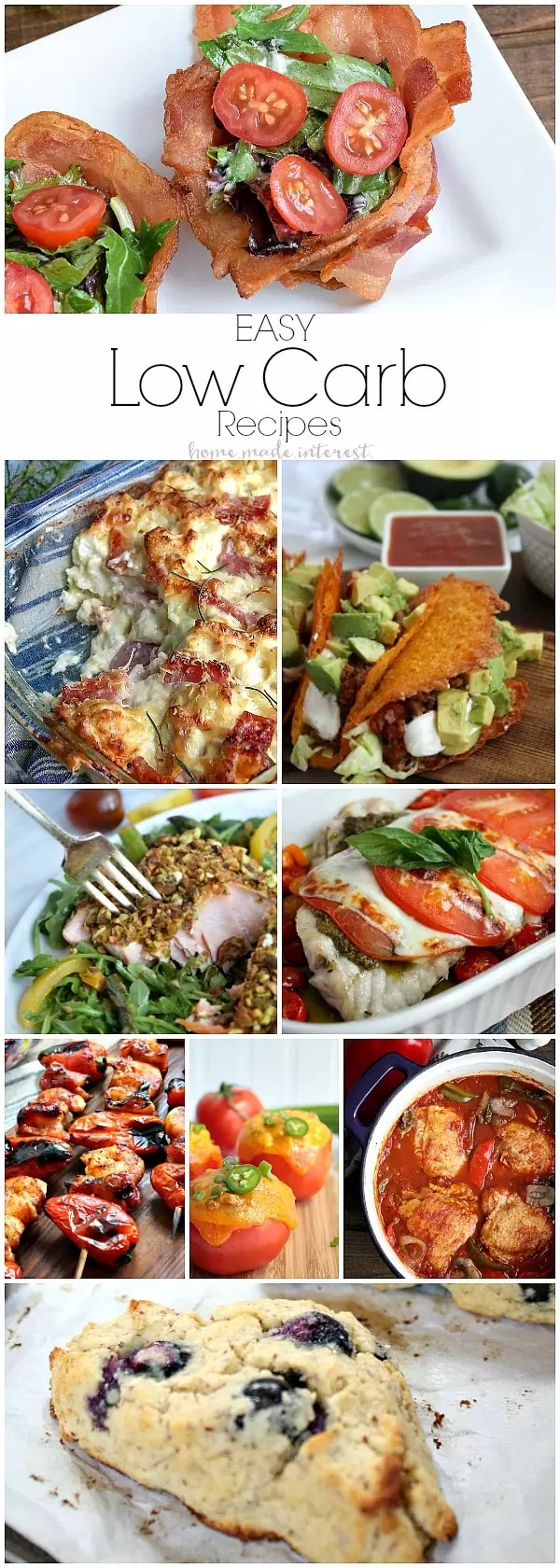 These easy low carb recipes and low carb substitutions make eating low carb simple. We have healthy low carb recipes for people on Atkins diet, Ketogenic diet, LCHF diet, whatever kind of low carb diet that is out there. These low carb recipes are must-try low carb dinner and low carb lunch recipes!