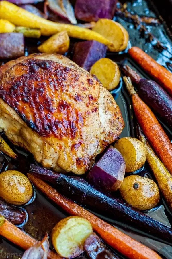 honey balsamic chicken thighs