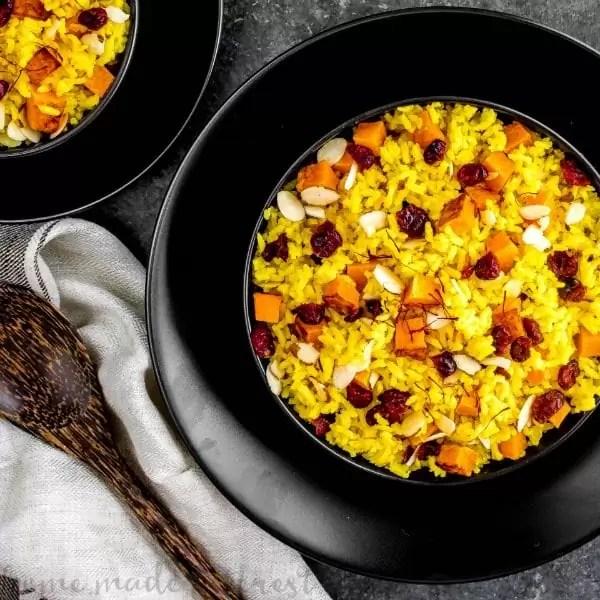 basmati rice with saffron