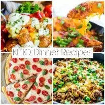 Your guide to keto dinner recipes are low carb and perfect for week night family dinners. This ketogenic diet guide to making low carb dinner recipes for the family.