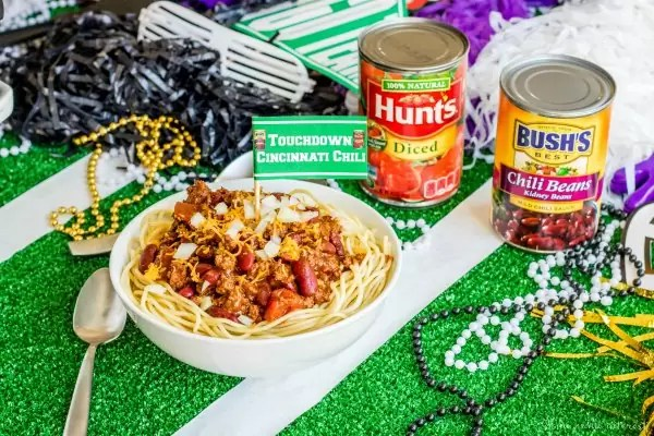 Cincinnati chili with BUSH'S beans