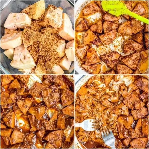 how to make BBQ Jackfruit Sliders