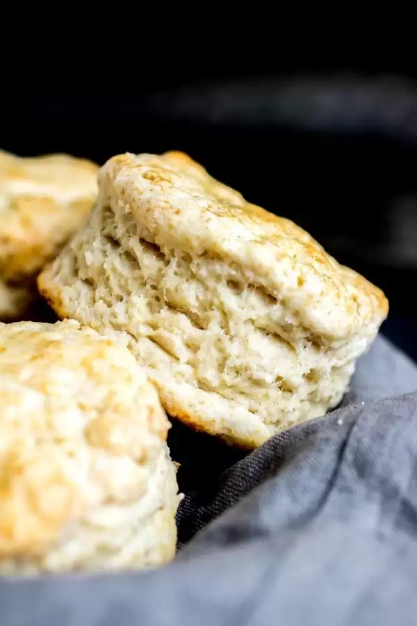 side layers of Baking Powder Biscuits