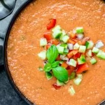 fresh Gazpacho Soup