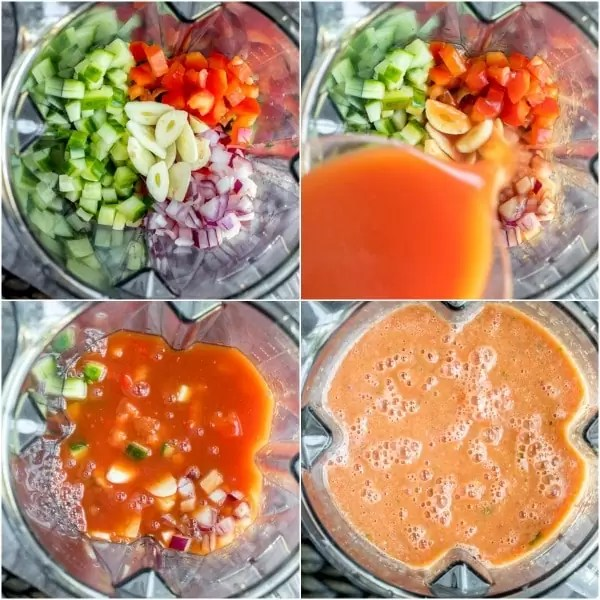 how to make Gazpacho Soup