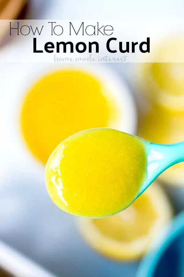 We'll show you how to make this easy lemon curd recipe. This lemon curd recipe uses lemon juice, sugar and eggs to make a light, bright, perfectly sweet and tart, lemon curd that makes a create filling for cakes and cupcakes, and the perfect topping for cheesecake.