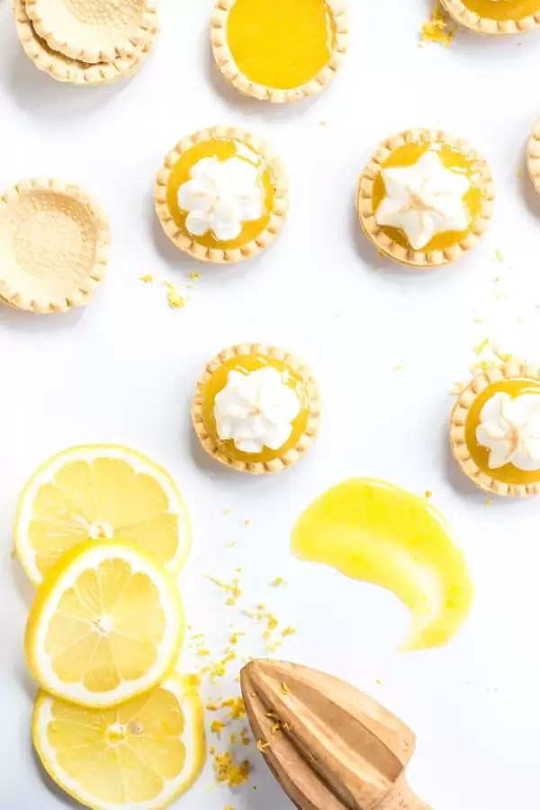 Meringue Lemon Curd Tartlets
