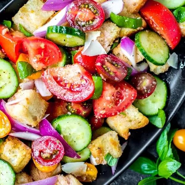 classic panzanella salad
