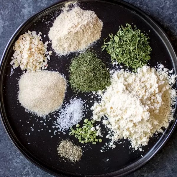 herbs and spices to make Homemade Ranch Seasoning