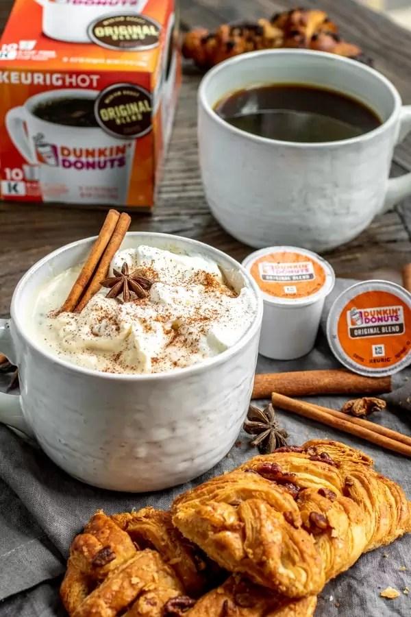 Dunkin Cinnamon Coffee