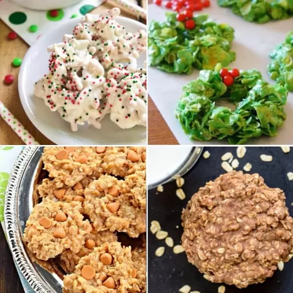 The best CHrsitmas cookies that are no bake.