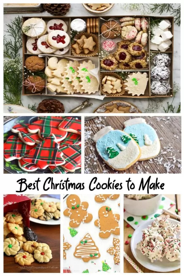 The best Christmas cookies to make for the holidays!