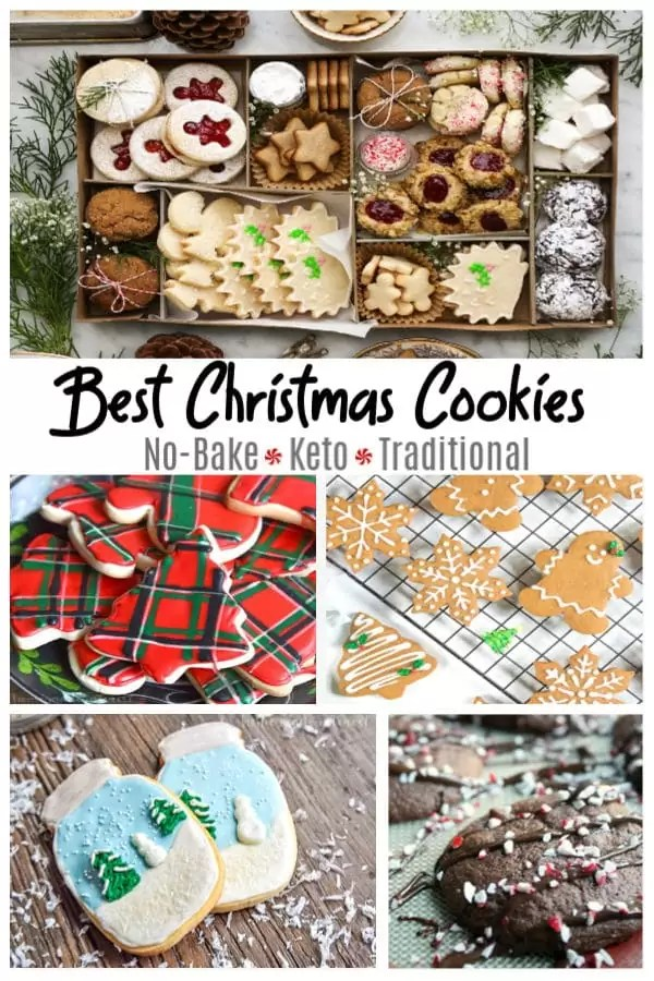 The best Christmas cookies to make from no bake, keto to traditional.