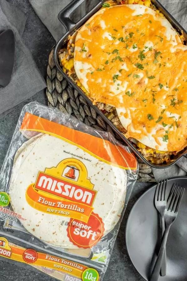 make ahead Breakfast Burrito Casserole
