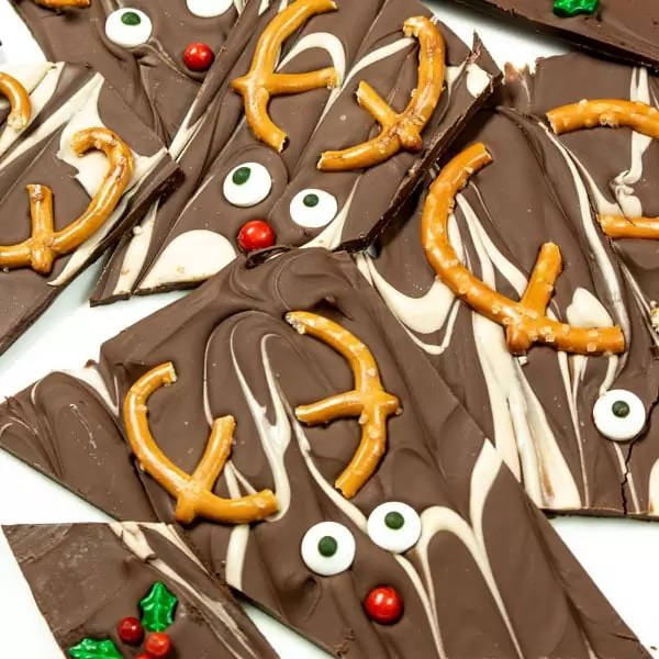 Holiday treat Christmas Bark