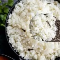 easy Instant Pot Basmati Rice with cloves