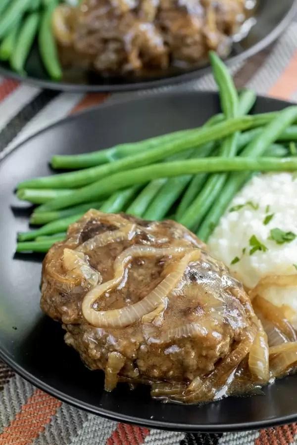 how to make stove top Salisbury Steak