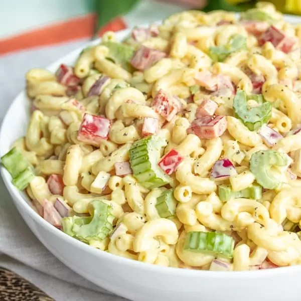 Classic Macaroni Salad Home Made Interest