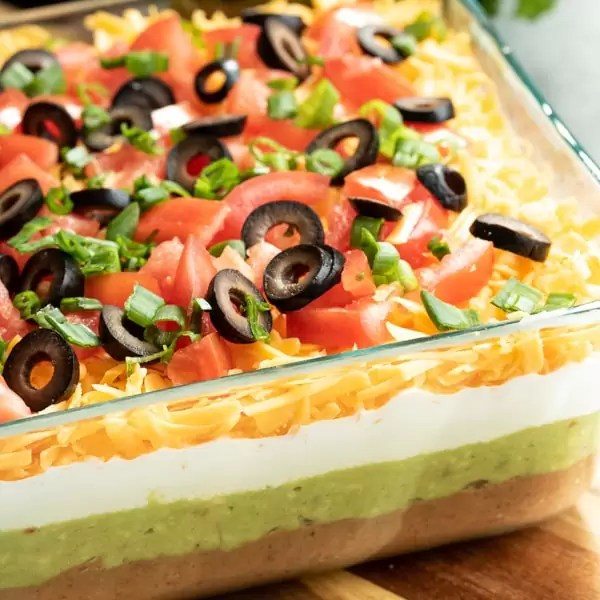 Mexican 7 Layer Dip Recipe Home Made Interest