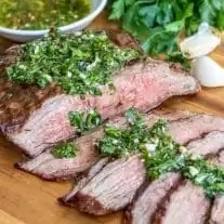juicy tender Chimichurri Steak