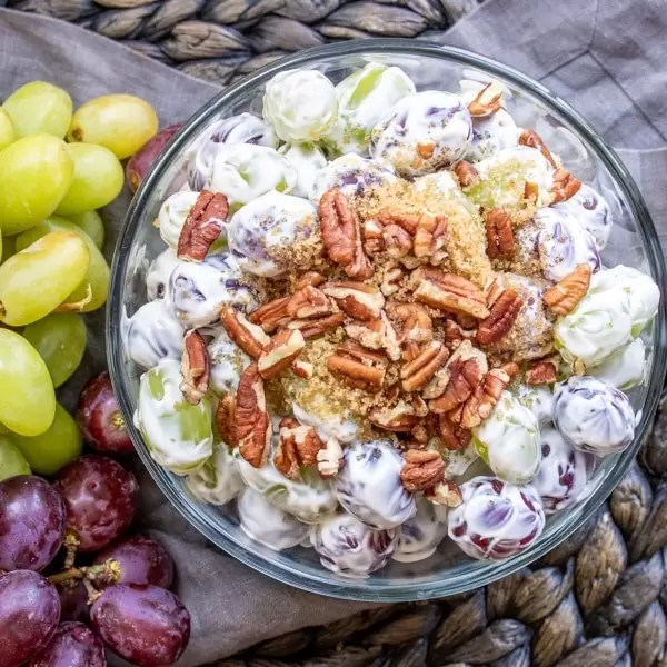 make ahead grape salad