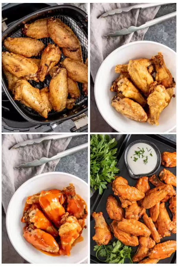 How to Make Air Fryer Chicken Wings