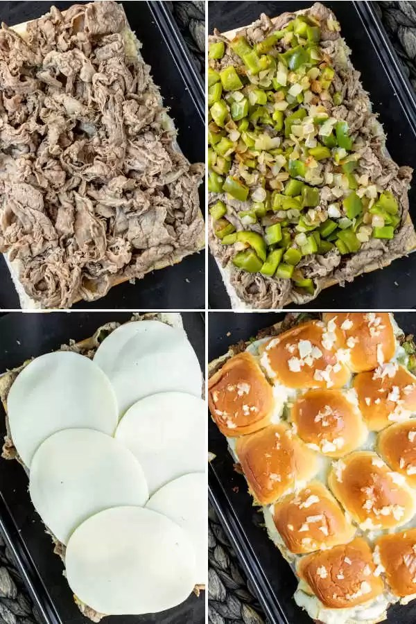 How to Make Philly Cheesesteak Sliders