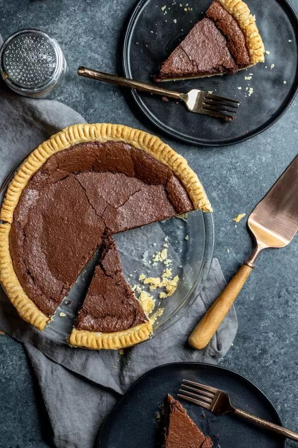 how to make the perfect Thanksgiving pie Chocolate Chess Pie