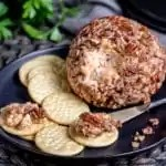 make ahead party appetizer Classic Cheeseball